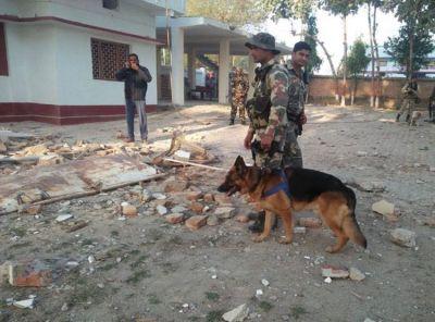बिहार: भाजपा नेता के घर को नक्सलियों ने डायनामाइट से उड़ाया