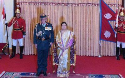 सेना प्रमुख बिपिन रावत को नेपाल ने जनरल रैंक से नवाजा
