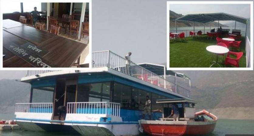 4 करोड़ की फ्लोटिंग मरीना बोट में कैबिनेट मीटिंग, टिहरी झील की विशेष सजावट