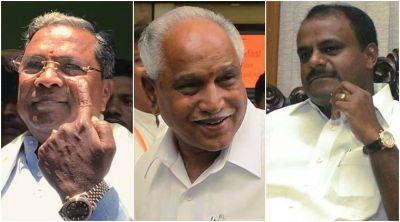 कर्नाटक विस परिणाम : अब राज्यपाल के हाथों में कर्नाटक का भविष्य