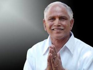 येदुरप्पा के सीएम पद की शपथ लेने की संभावना