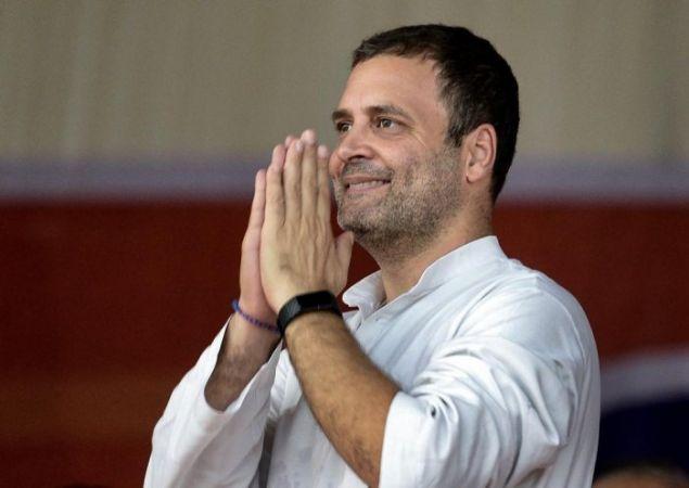 चुनाव प्रचार के अंतिम दिन राहुल ने किया जीएसटी और नोटबंदी के मुद्दे पर बीजेपी का घेराव