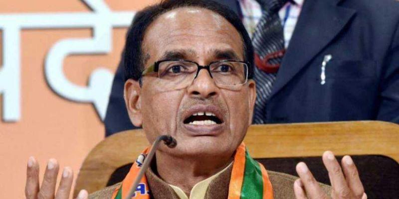 बुरहानपुर की जनसभा में बोले, शिवराज- कांग्रेस के खून में ही भ्रष्टाचार है