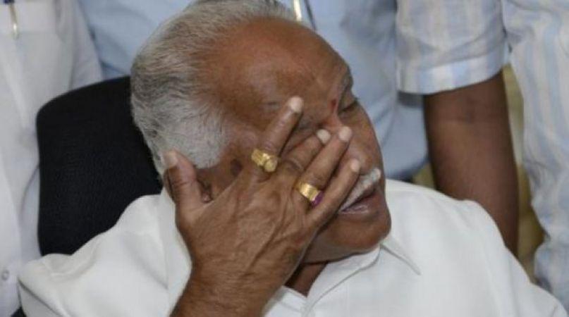 कर्नाटक में बीजेपी की दो दिन की सरकार गिरी