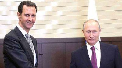 असद की पुतिन से मुलाकात, सीरिया के हालत पर चर्चा