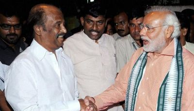 मोदी से मिलेगा साउथ का भगवान, BJP ज्वाइन कर सकते है रजनी