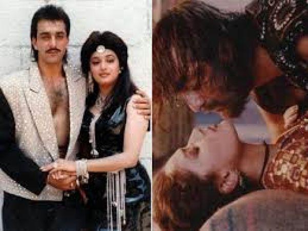 संजय और अपनी प्रेम कहानी छुपाने के लिए माधुरी ने किया बायोपिक के डायरेक्टर को कॉल?