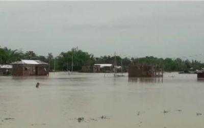 त्रिपुरा में बारिश ने मचाई भारी तबाही, सैकड़ों लोग हुए बेघर