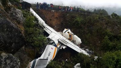 नेपाल की गोमा एयर का विमान दुर्घटनाग्रस्त, सीनियर पायलट की मौत