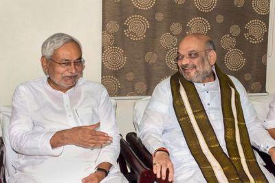 मंत्रिमंडल गठन से पहले अमित शाह से मिलने पहुंचे नीतीश कुमार