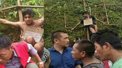 Accused of rape marched 'naked' in Nagaland