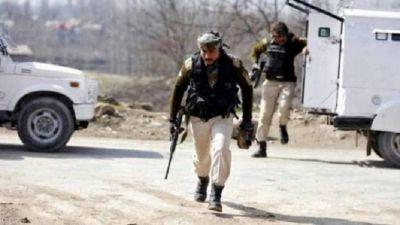 Terrorist attack on CRPF camp in Jammu Kashmir, fired grenade, firing continues