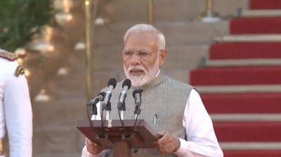 नरेंद्र मोदी ने लगातार दूसरी बार ली देश के प्रधानमंत्री की शपथ, इन सांसदों को भी मिला मंत्री पद