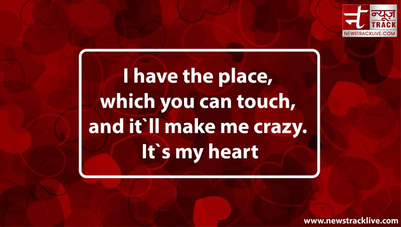 I have the place, which you can touch