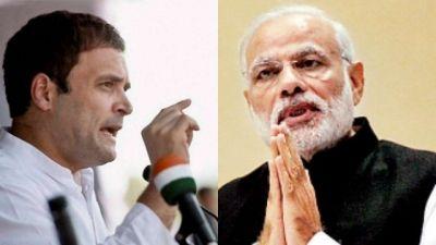 नोटबंदी: कांग्रेस के वार पर बीजेपी का पलटवार, राहुल को करोड़ों की कार से निकाल कर लाइन में खड़ा कर दिया