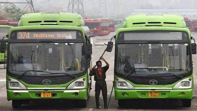 ओड-इवन से डीटीसी बसों पर पड़ेगा अतिरिक्त भार