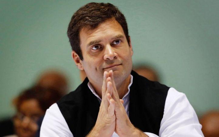 कांग्रेस अध्यक्ष पद के लिए आज नामांकन दायर करेंगे राहुल