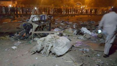 पाकिस्तान : आतंकियों ने टाइम बम से किया हमला, दो लोगों की मौत, आठ गंभीर