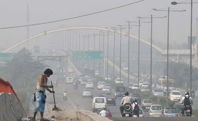 Delhi air quality carries on remaining in 'very poor category'