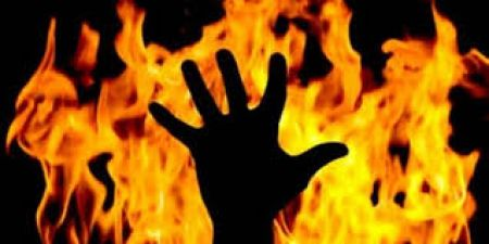 A man burnt women alive because she refused to marry him