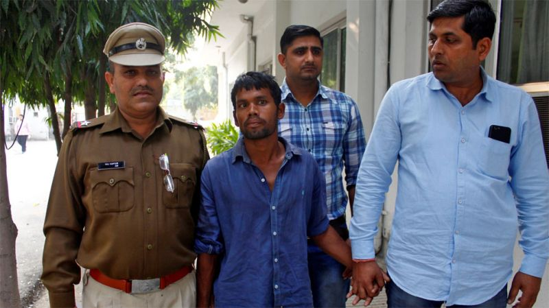 Gurugram serial rapist-killer arrested who preyed on nine minor girls