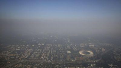 दिवाली के बाद दिल्ली के आसमान में छाई जहरीली प्रदुषण की चादर