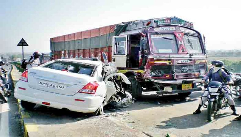 भारत में एक्सीडेंट में मृत्यु हुईं कम