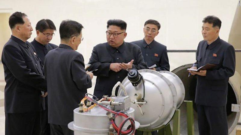 उत्तर कोरिया विश्व के लिए खतरा