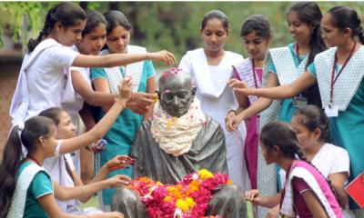 Mahatma Gandhi is inspiration for the world literature
