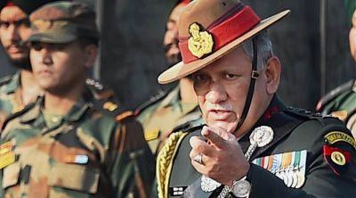 पाकिस्तान को सेना प्रमुख की दो टूक, पत्थरबाजों को भी बताया 'आतंकियों जैसा'