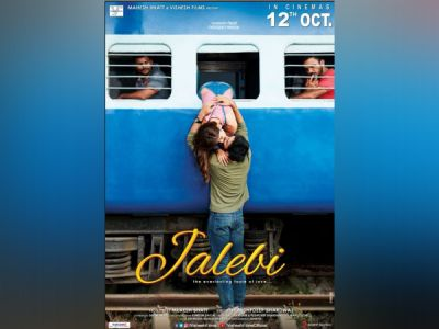 FIRST LOOK of Jalebi: Watch Rhea Chakraborty and Varun Mitra leap lock  from the train window