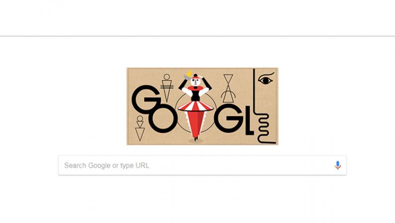 गूगल ने सबसे बड़े कलाकार को समर्पित किया अपना डूडल