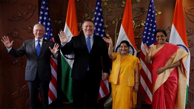2+2 वार्ता: भारत-अमेरिका के बीच महत्वपूर्ण रक्षा करार