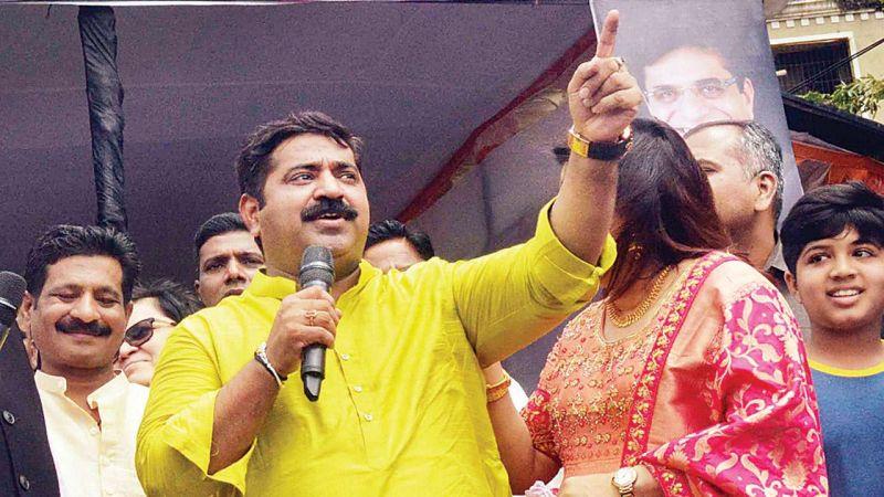 राम कदम की जीभ काटकर लाने वाले को पांच लाख रुपए- कांग्रेस