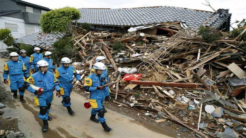जापान भूकंप : मृतकों की संख्या 40 हुई , बचाव कार्य जारी