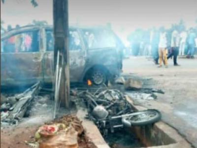 नाइजीरिया में गैस डिपो में हुआ बड़ा विस्फोट, 18 की मौत