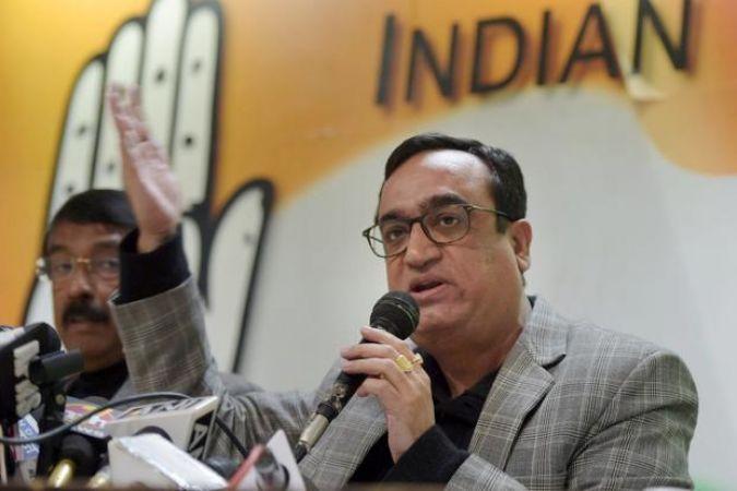 डीयूएसयू चुनाव: अजय माकन ने उठाई दोबारा चुनाव की मांग, लगाया ईवीएम से धोखाधड़ी का आरोप