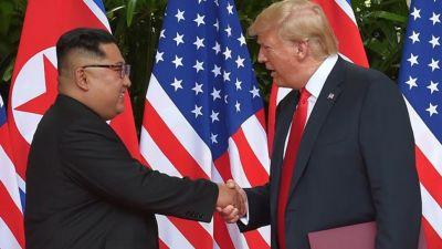 ट्रम्प ने लगाया उत्तर कोरिया की IT कंपनियों पर लगाया प्रतिबंध