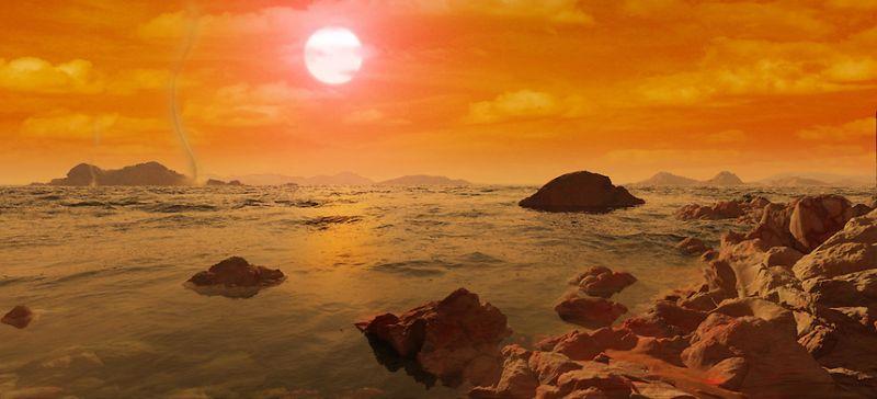 पृथ्वी के पास मिला एक और ग्रह जहां बह रहा विशाल समुद्र
