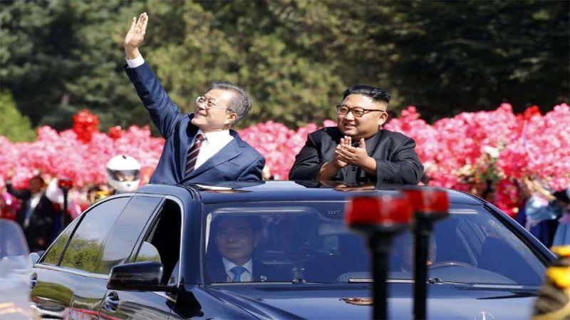 5 महीने में तीसरी बार दक्षिण कोरिया के राष्ट्रपति से मिले किम जोंग