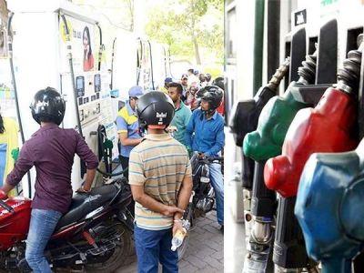 पेट्रोल-डीजल : आज फिर बढे दाम, जनता का हाल-बेहाल