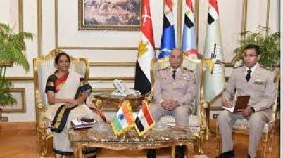 आतंक के खिलाफ लड़ाई में एकजुट हुए भारत और मिस्र