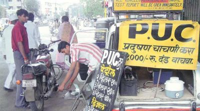 PUC certificate made compulsory for vehicles