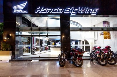 Honda Debuts Exclusive 'BigWing' Premium Motorcycles Outlet in India