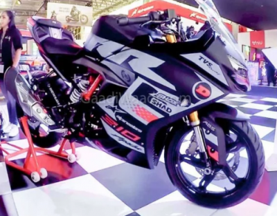 Find out how much the SPECIAL edition of the TVS Apache RR 310 will be different from the existing model