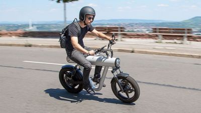 The youth of Visakhapatnam invents the 'rocket motorcycle' with Rs 16,000
