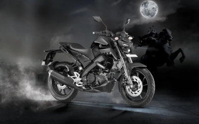 Yamaha MT-15 seem in these colors, these will be other features