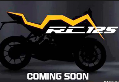 Photo of KTM RC 125 came up front, bookings get starts