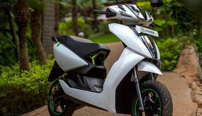 Okinawa introduced this electric scooter, will run 110 kilometers once fully charged!