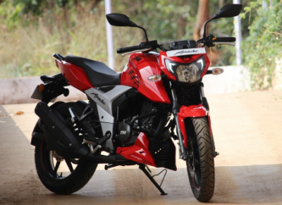 TVS Apache RTR 160 4V is equipped with powerful features, know how much will be saved